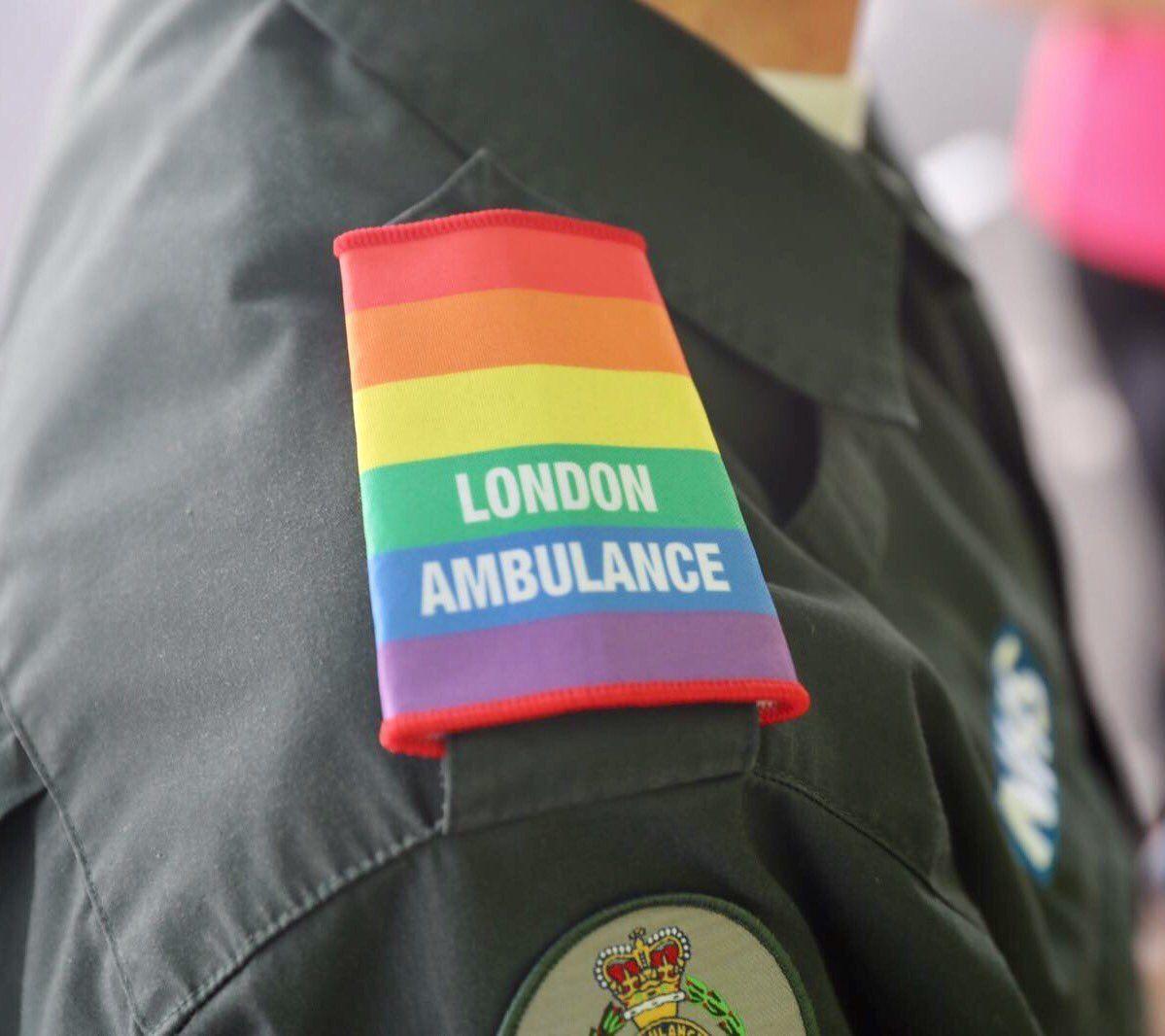 London Ambulance on Twitter: Follow our @LAS_LGBT account