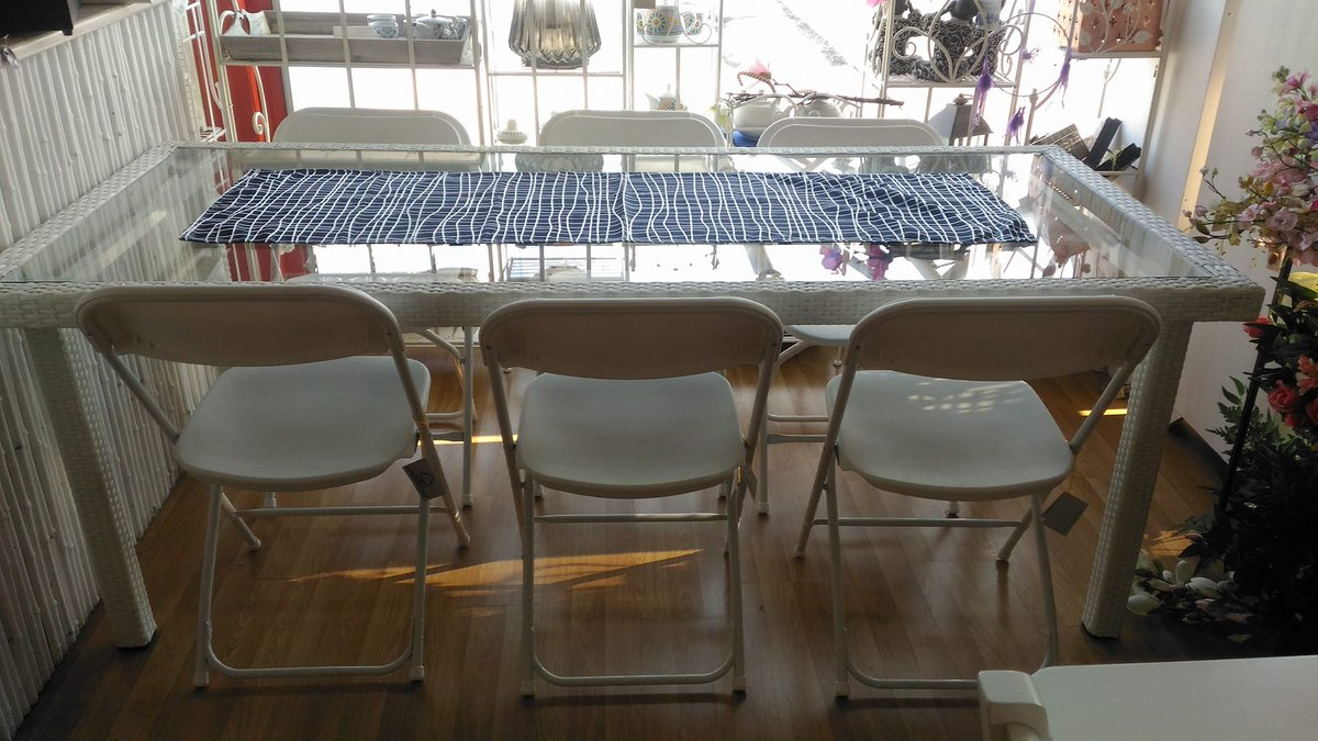 Sedie Pieghevoli In Offerta.Albert Arredamenti On Twitter Offerta Tavolo In Alluminio