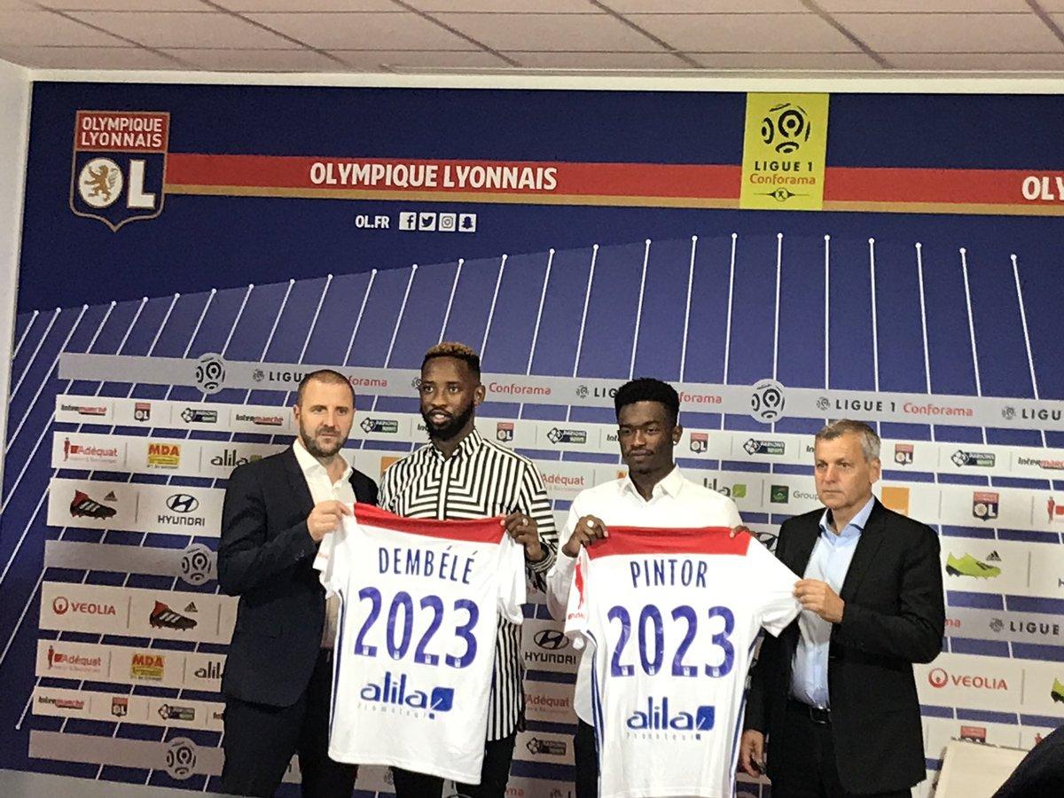 Maillot THIRD Olympique Lyonnais Moussa DEMBELE