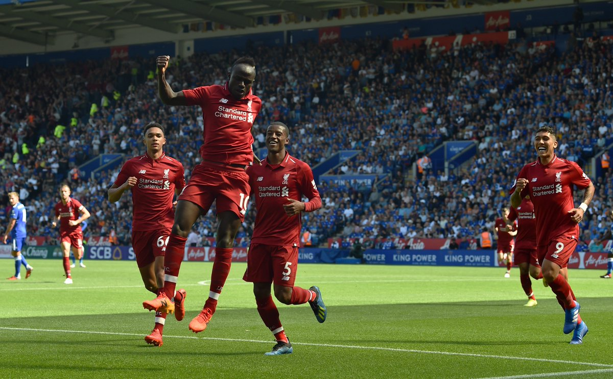 Chấm điểm kết quả Leicester City 1-2 Liverpool