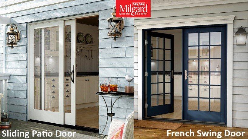 Milgard Windows On Twitter Swing Or Sliding What Patio Door Style