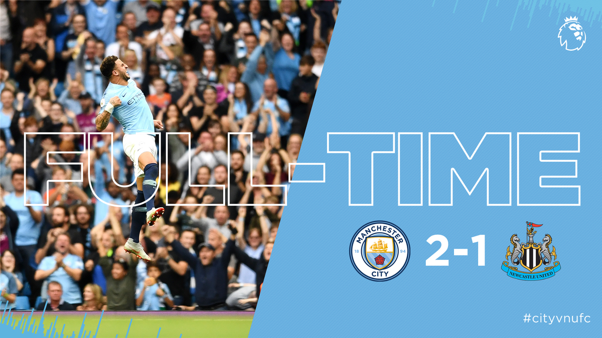 Chấm điểm kết quả Manchester City 2-1 Newcastle United