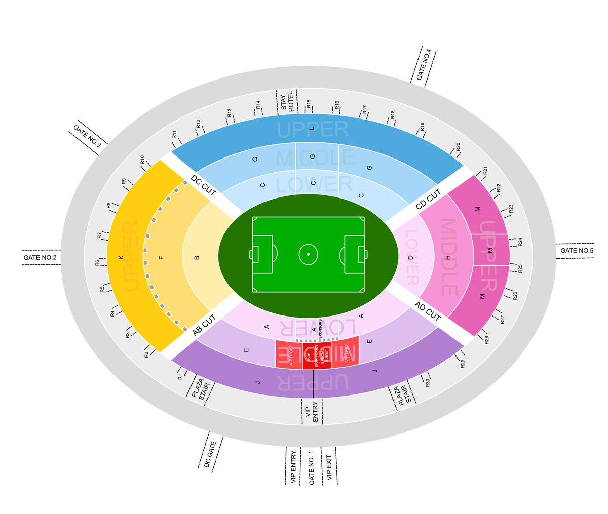 real salt lake stadium map East Bengal News Analysis On Twitter Typo The Seating Location real salt lake stadium map