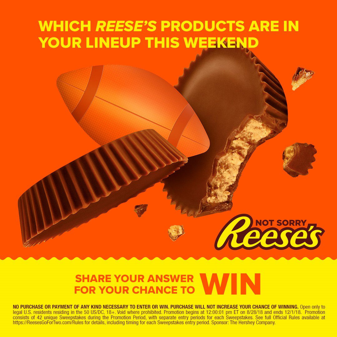 Reese Sweepstakes