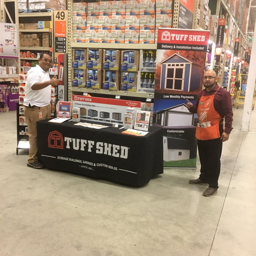TUFF SHED - THD SOUTH FLORIDA ☀ on Twitter: