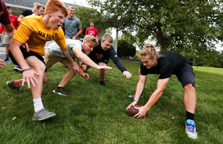 Pick up todays Post Bulletin for @ByronMNFootball: The start of a season. See all of the photos here: bit.ly/2MK7EQo