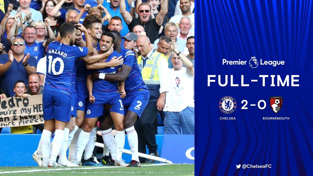 Chấm điểm kết quả Chelsea 2-0 Bournemouth