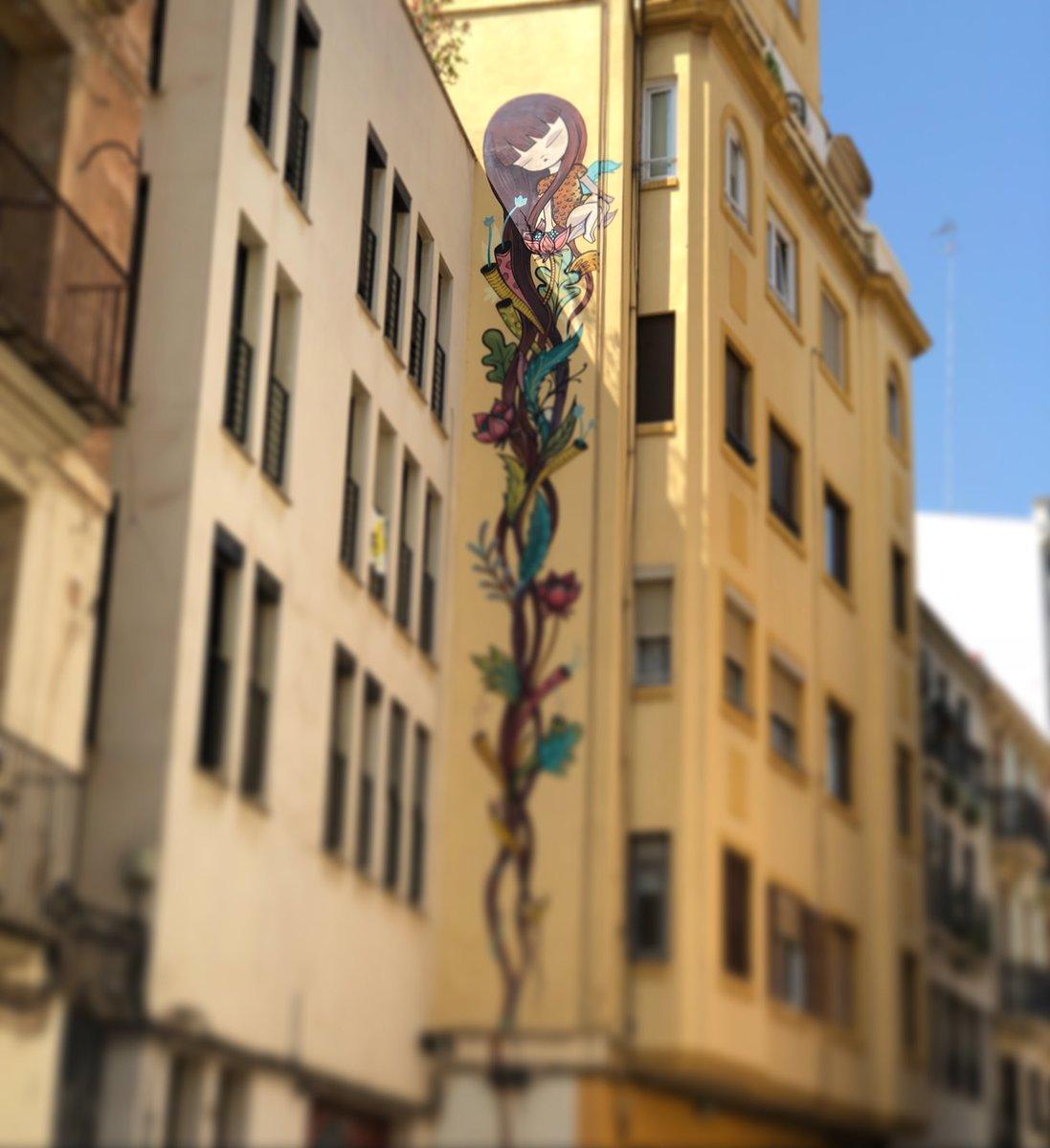 #Arte de ese que hace que envidie paredes... #art #urbanart #BEN