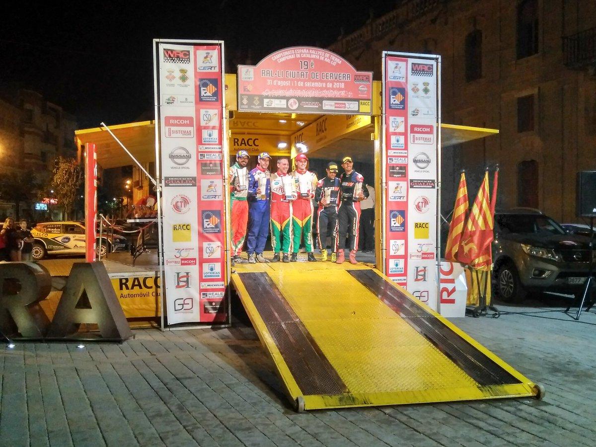 CERT: 19º Rallye de Tierra Ciutat de Cervera [31 Agosto - 1 Septiembre] - Página 2 DmCGtS6X4AAzC7Z