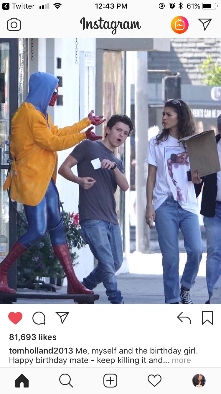 Tom Holland wished Zendaya Happy Birthday friendship goals