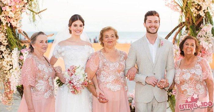 Camila Queiroz fala da importância de ter suas avós em seu casamento. Veja tudo o que rolou no casamento dela com Klebber Toledo! https://t.co/zYNQQ3tDNC