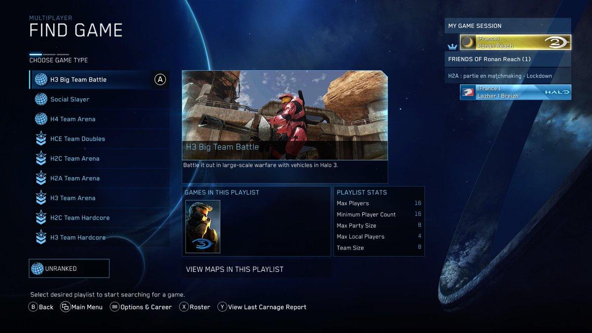 Halo 3 jour de matchmaking