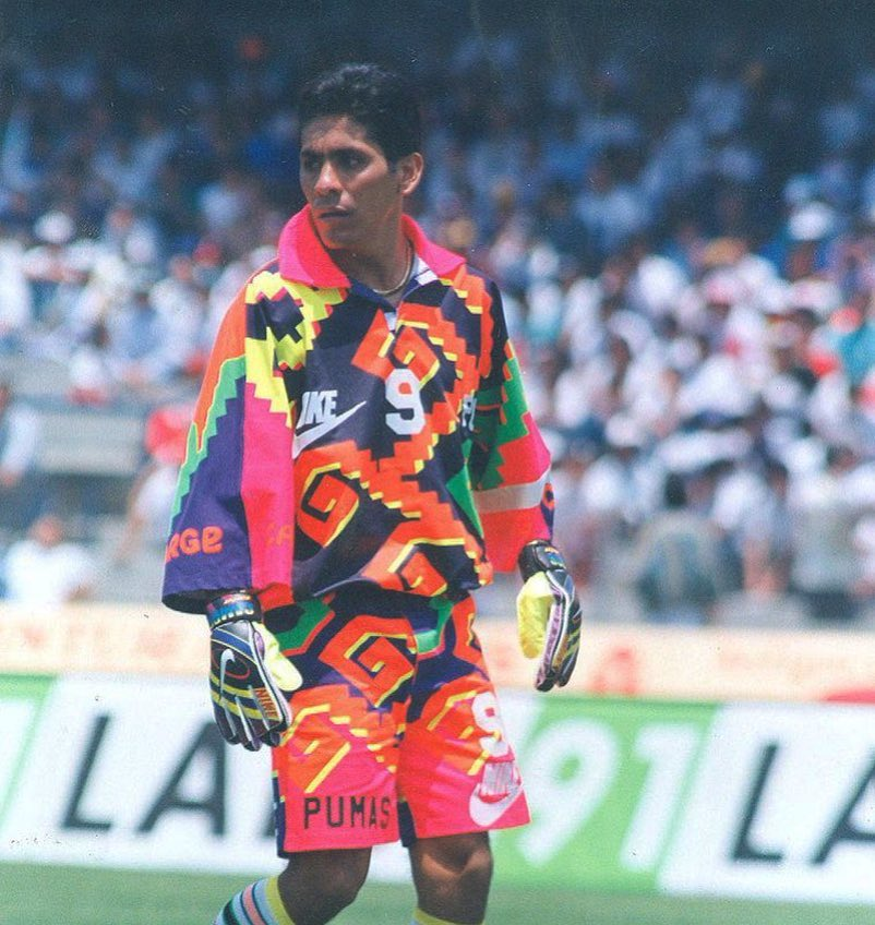 """The FADER on Twitter: """"Jorge Campos had the best goalie jerseys ..."""