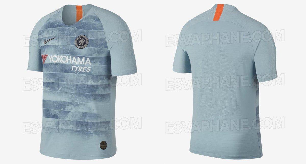 Blog Segunda Pele  Nova camisa 3 do Chelsea é revelada por site  confira b271004ff5fb4