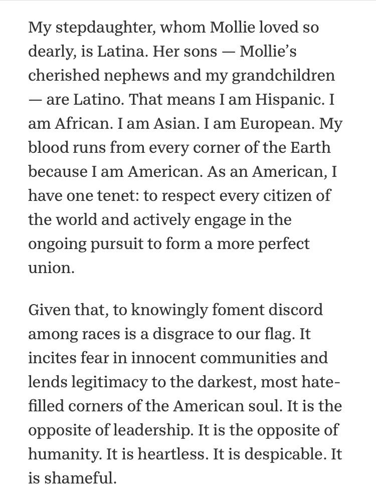 An extraordinary essay from the father of Mollie Tibbetts: https://t.co/glUc5OaI41
