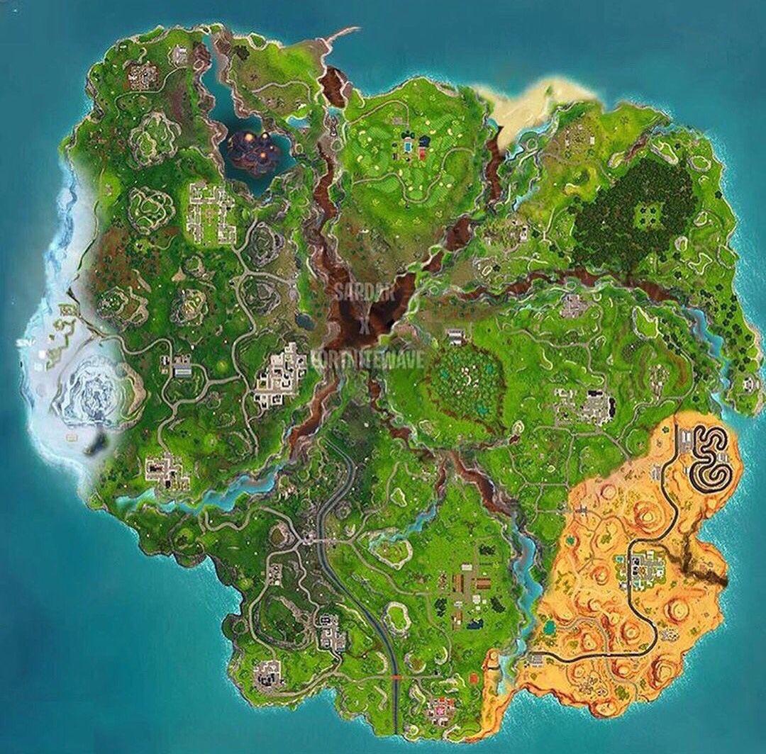 Mapa Fortnite Temporada 1.Uzivatel Fortnite Info Na Twitteru Concepto E Idea De