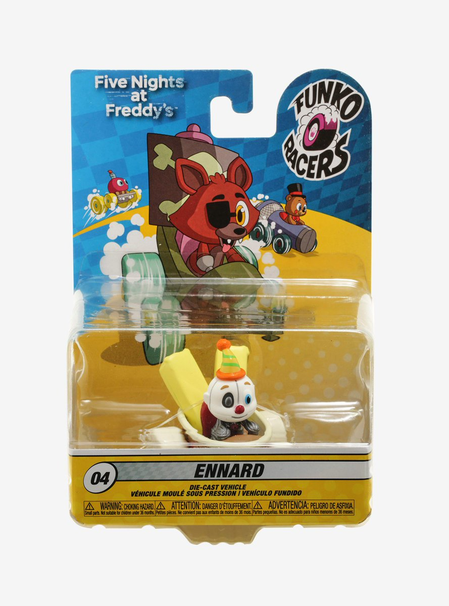 Lolbit Vinyl Figure Five Nights At Freddy/'s FNAF FUNKO SUPER RACERS
