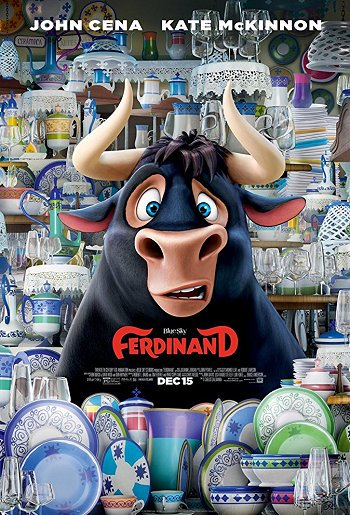 "🎬 Watching ""Ferdinand"" movie. Starring #JohnCena, #KateMcKinnon and #BobbyCannavale on @HBO. @20thcenturyfox #FerdinandMovie"