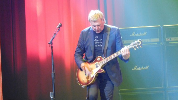 Happy (Belated) 65th Birthday to Alex Lifeson of (Aug 27). Photo from R40 Seattle show, July 19, 2015.