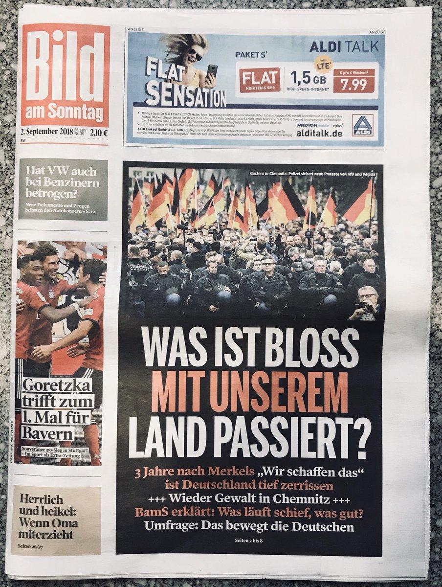 Lesetipp BILDamSONNTAG Geht Heute Auf Sieben Seiten Der Frage Nach Was In Den Drei Jahren Seit Merkels Wir Schaffen Das Mit Unserem Land Passiert Ist