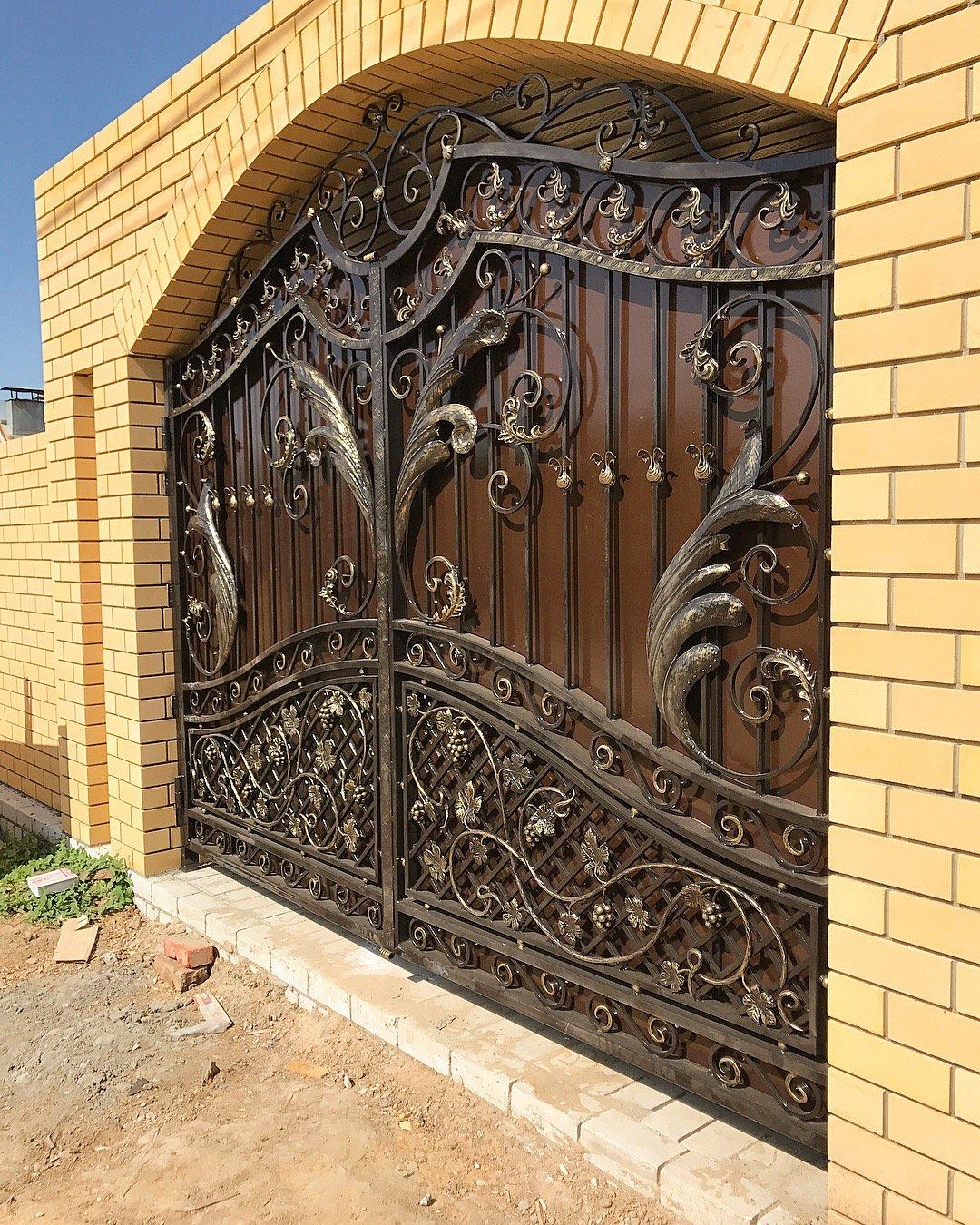 красивые ворота фотогалерея или ведьмино зелье