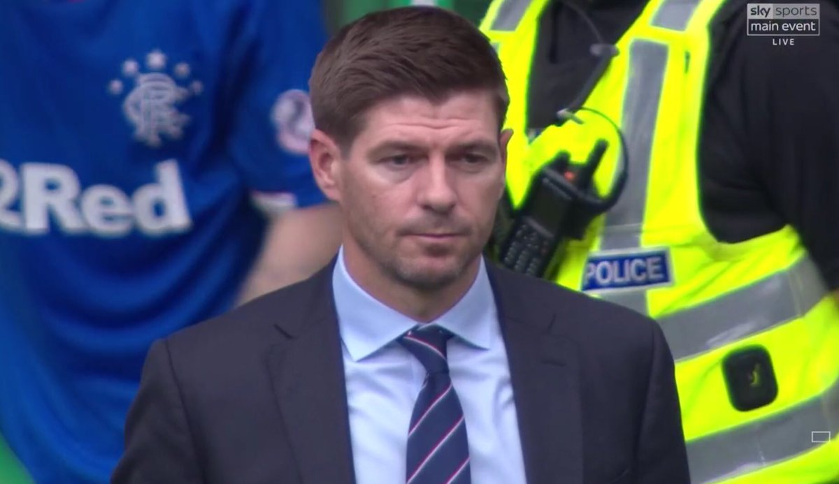 Rangers lose for the first time under steven gerrard f4791db95
