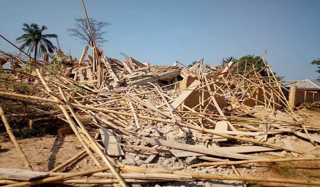 Image result for Catholic Church collapses on worshipers