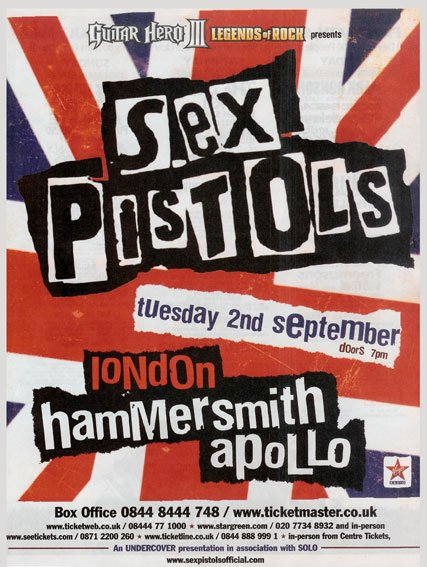 the history of the sex pistols history essay When we recount history, we tend to use the life experience of one person — the journey of a in 2014, the jazz historian ted gioia published a short essay about music criticism that outraged a class of which means the sex pistols could win again or maybe they lose bigger, depending on the judge.