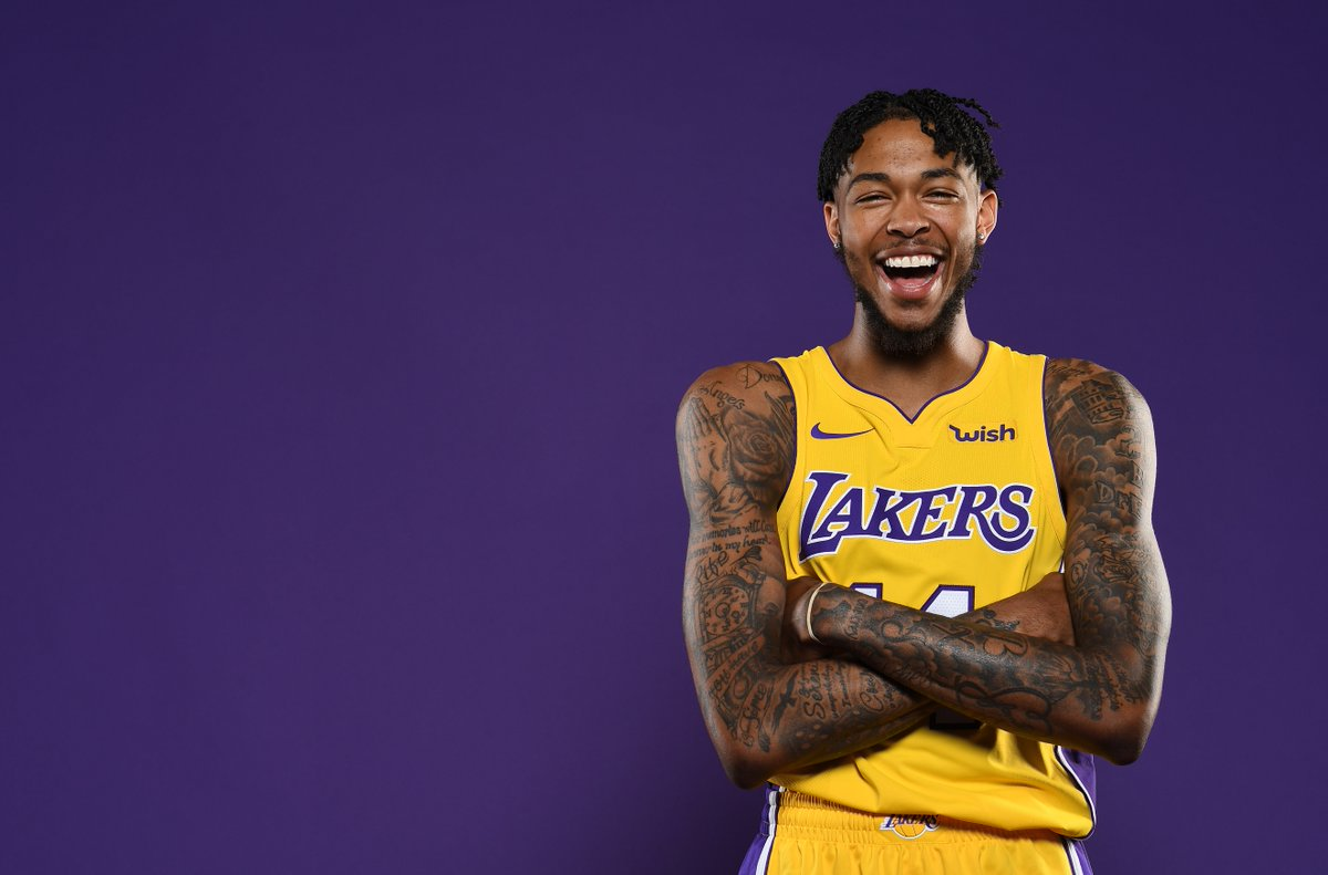 Join us in wishing @B_Ingram13 of the @Lakers a HAPPY 21st BIRTHDAY! #NBABDAY