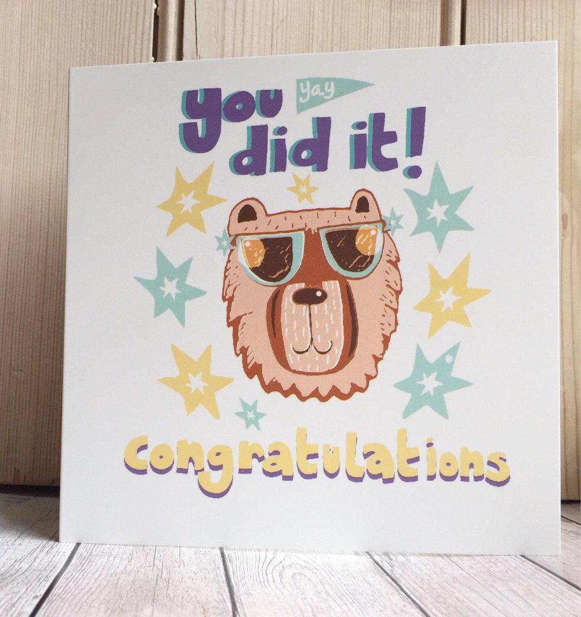 Slumbermonkey Design On Twitter Exam Congratulations Cards Exam