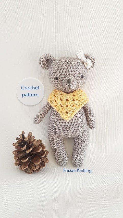 Frisian Knitting On Twitter Crochet Pattern Bear Crochet Toy