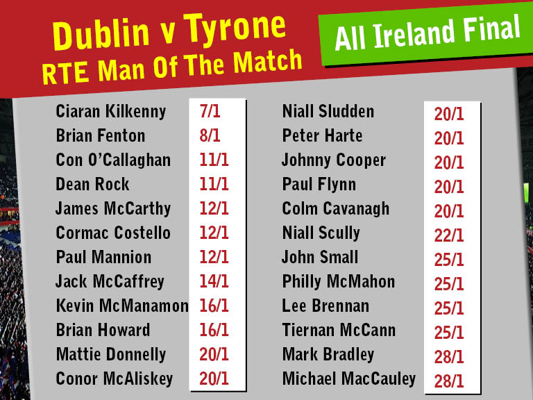 rte man of the match betting sites