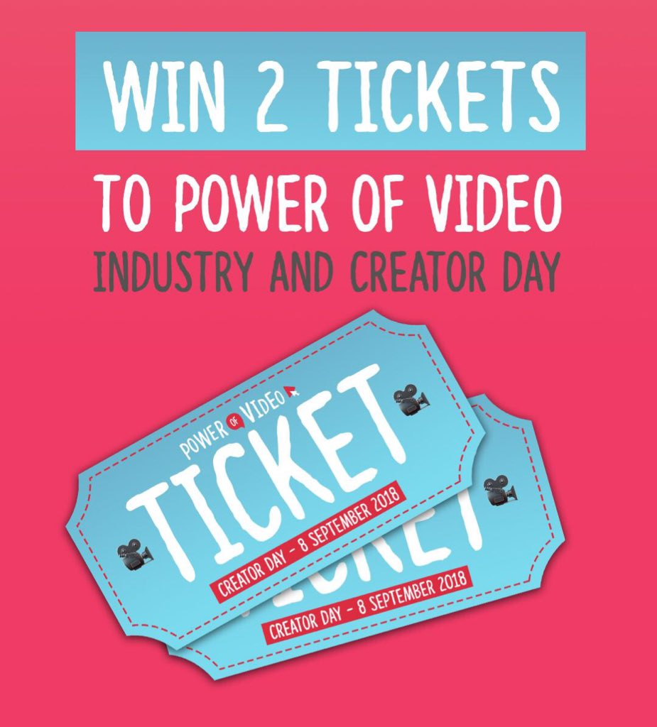 Happy Sunday - who wants a pair of Tickets to both days of Power of Video next week? Like, Retweet and Tag who's coming with you! We'll pick a winner tonight! #povbelfast https://t.co/lD1rKe9WNz
