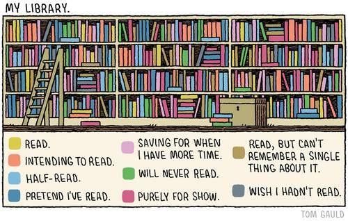 How is your bookshelf organized ? https://t.co/CqJjq5nQTu