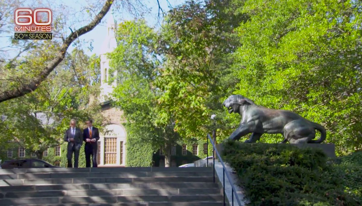 Princeton University On Twitter Tonight 60Minutes Will Re Air