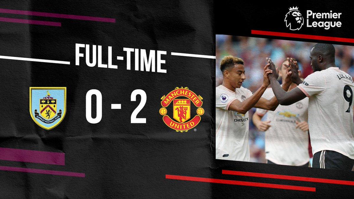 Chấm điểm kết quả Burnley 0-2 Manchester United