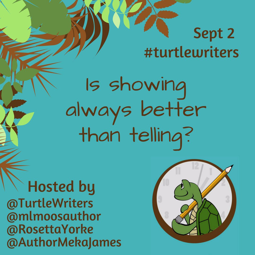 "TurtleWriters On Twitter: ""We've All Heard The Rule, ""show"