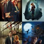 Image for the Tweet beginning: My four #TheXFiles's Covers Art