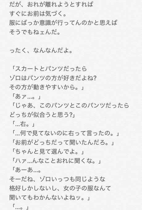 夢 小説 ゾロ ワンピース