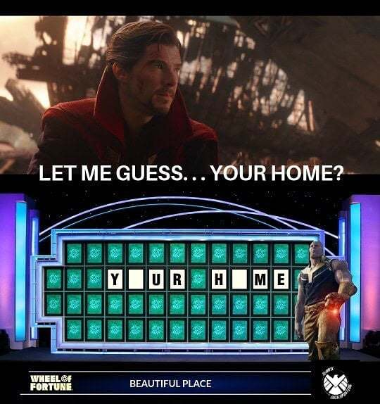 I'd like to solve the puzzle! Let Me Guess, Your Home? is the hottest Meme on the market! . . . . . #meme #memes #dankmemes #dank #dankmeme #mememoney #memeeconomics #memeeconomy #memefolio #memeinvestment #comedy #funny #gameshow #wheeloffortune #idlike…