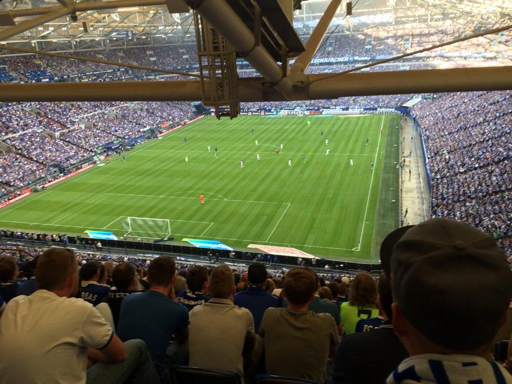 Heute mit @modnoii im Stadion gewesen. Die Offensive hakt total. Das Spiel weitestgehend kontrolliert, aber es kommt keine Torgefahr bei rum.