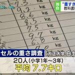 朗報!重過ぎる日本の小学生のカバンがやっと軽くなるってよ!