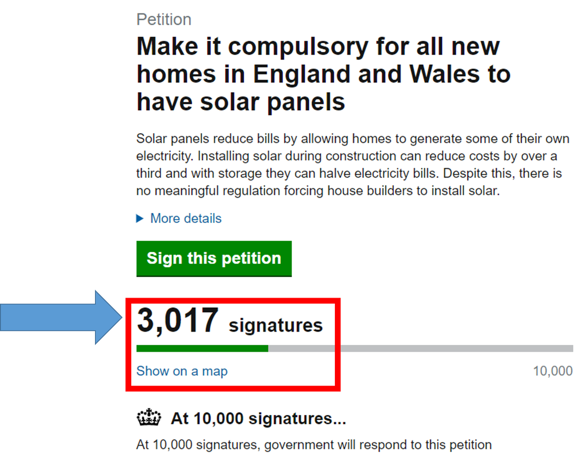 Mygrid Gb On Twitter 3000 Signatures Supporting Solar New Wiring Panels In Series Vs Parallel Homes England And Wales Just Like They Do Scotland Https Tco 1u4fczckuu