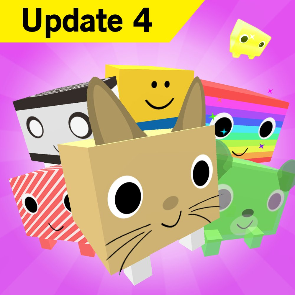 Big Games On Twitter Update 4 Is Out For Pet Simulator Includes