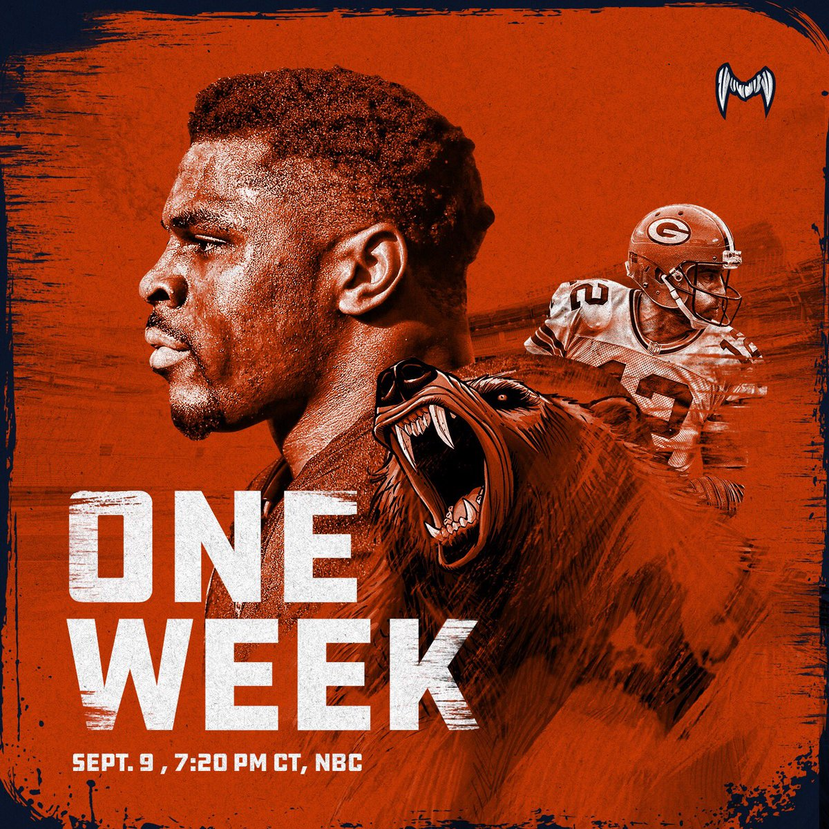 """Chicago Bears On Twitter: """"Bring It. #SNF…"""