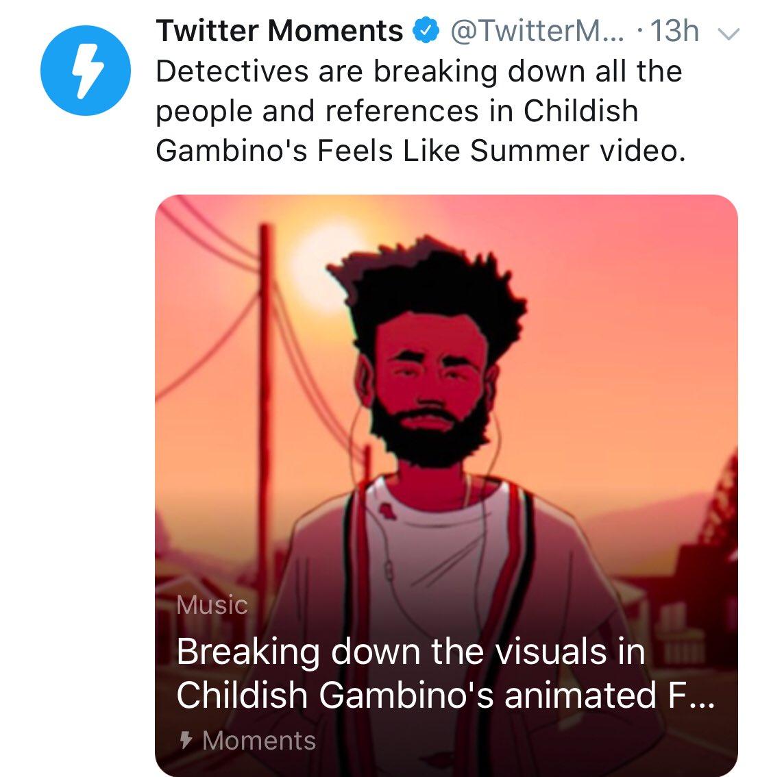 """Lmbo @ """"detectives"""" @twitter is so shady. #ChildishGambino"""