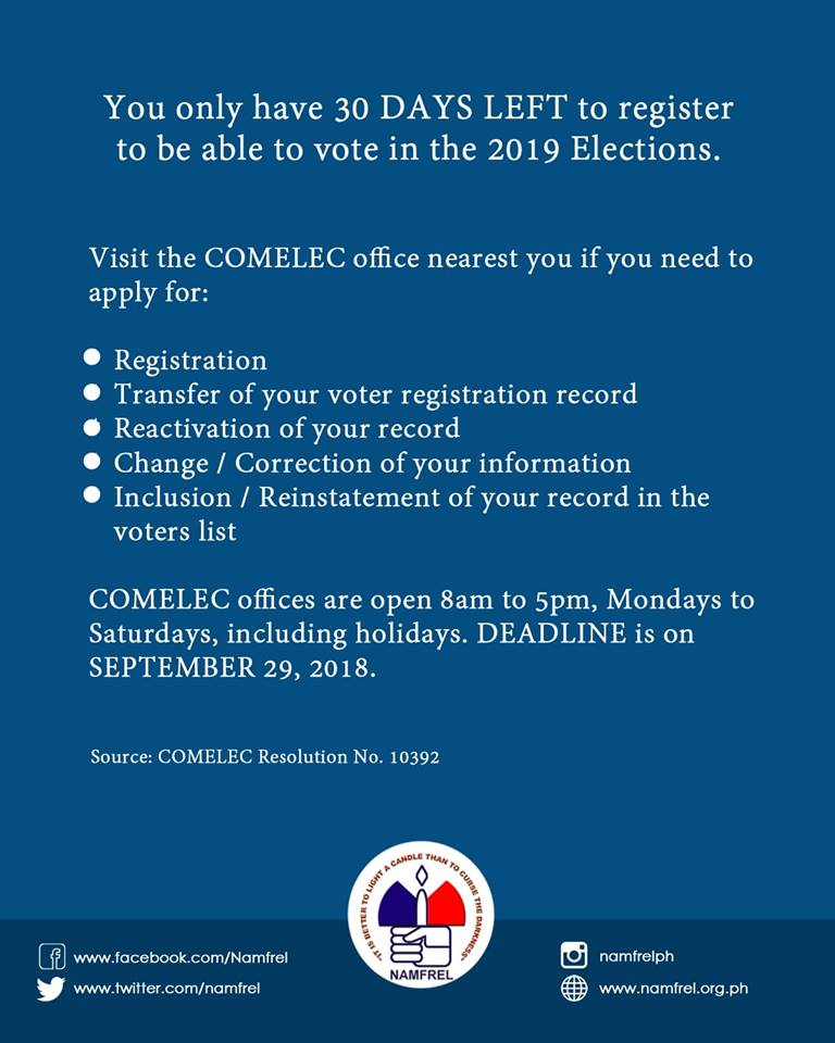 If you really want change, please make sure you're registered!