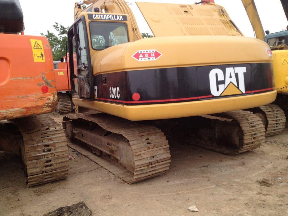 Cat 320c excavator parts Manual
