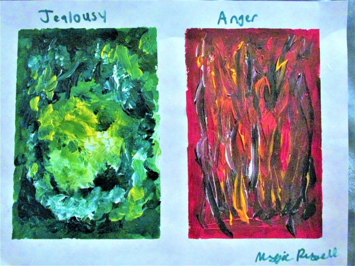 Mags Russell Art On Twitter I Received My Nonrepresentational