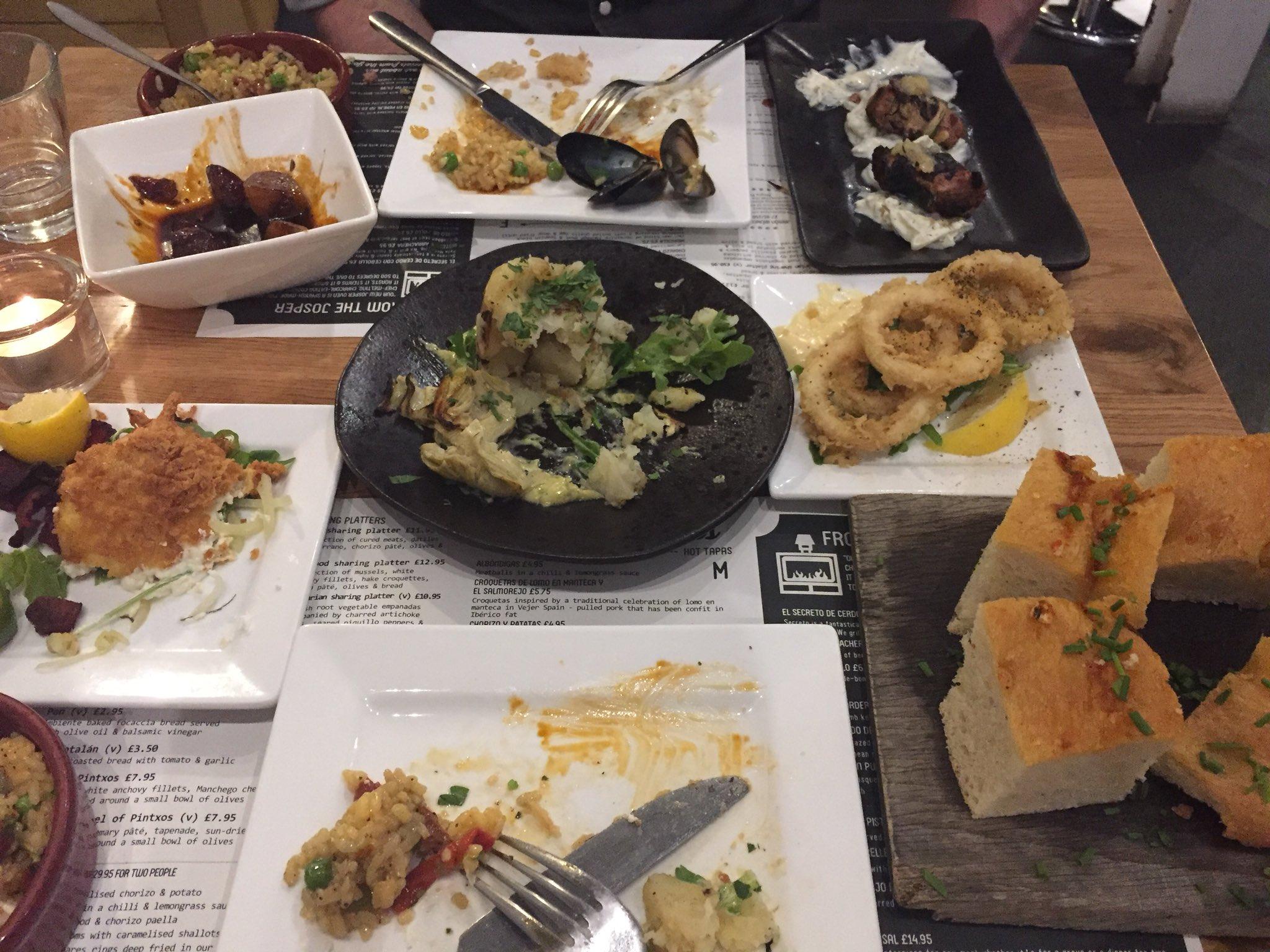"Inspiration Cuisine En U inspiration highway on twitter: ""we had some yummy tapas"